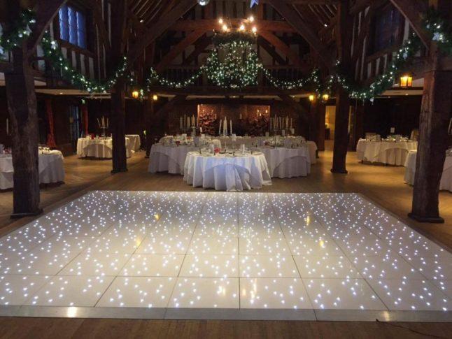 Manchester White Starlight Dance Floor