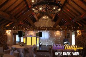 Hyde Bank Farm Wedding